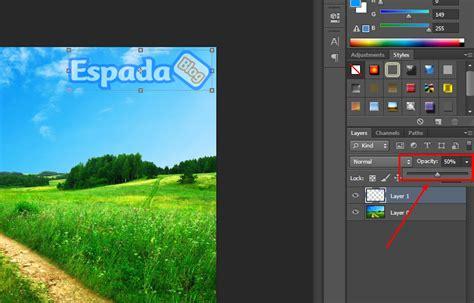 membuat watermark pada photoshop cara membuat watermark pada gambar dengan photoshop