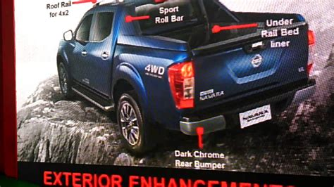 nissan navara 2017 sports edition features of nissan navara sport edition part 2 youtube