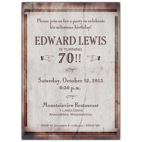 70th birthday invitation templates world 70th birthday invitations paperstyle