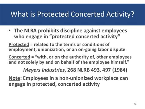 nlra section 7 protected activity pli workplace privacy in the year 2013 2013 6 13
