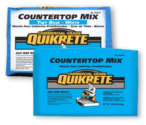 Quikrete Concrete Countertop Mix by Cement And Concrete Products Quikrete 174 2017