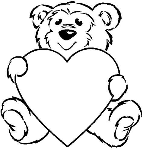 imagenes para pintar oso dibujos de osos de amor imagui
