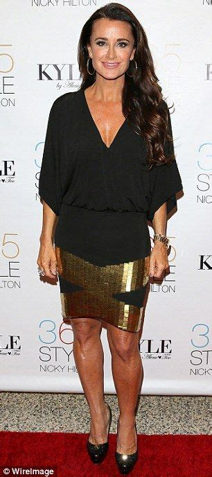 does kyle richards have hair extensions brandi glanville dark the o jays and housewife on pinterest