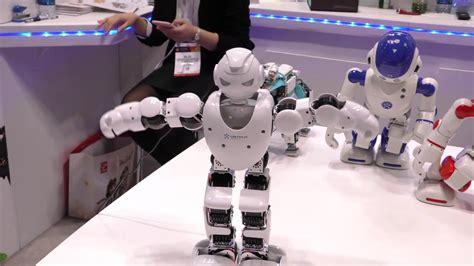 tutorial dance robot ubtech alpha series humanoid dancing robot toy fair 2016