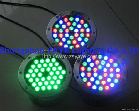 rgb led light 1w 36w led swimming pool light rgb led light l