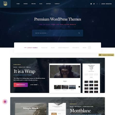 wordpress themes free easy to customize 17 best minimalist simple wordpress themes and templates 2018