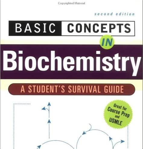 science basic concepts in biochemistry a student s