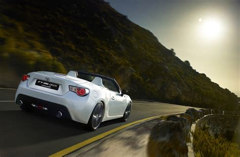 convertible toyota truck toyota 86 convertible concept revealed photos 1 of 9