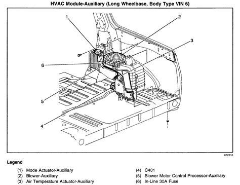 2004 trailblazer blower motor resistor wiring harness 53