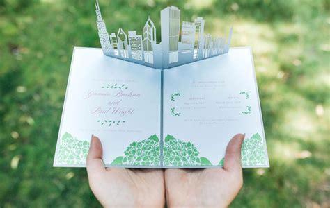 custom wedding invitations wow wedding invitations gt gt custom pop up invites
