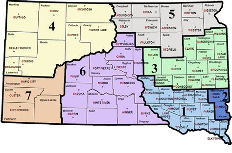 South Dakota Courts Search Circuit Boundaries