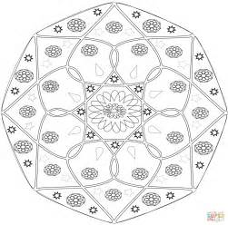 mandala coloring book purpose abstract mandala with flower coloring page free