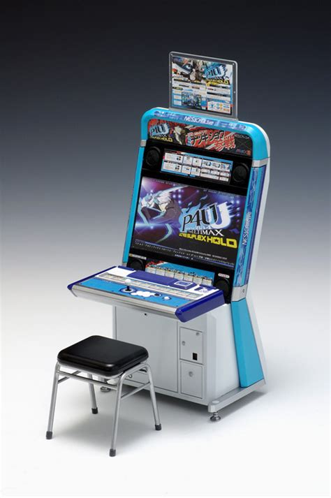 Vewlix Arcade Cabinet Kit by Persona 4 Ultimax Ultra Suplex Hold 1 12 Scale Arcade