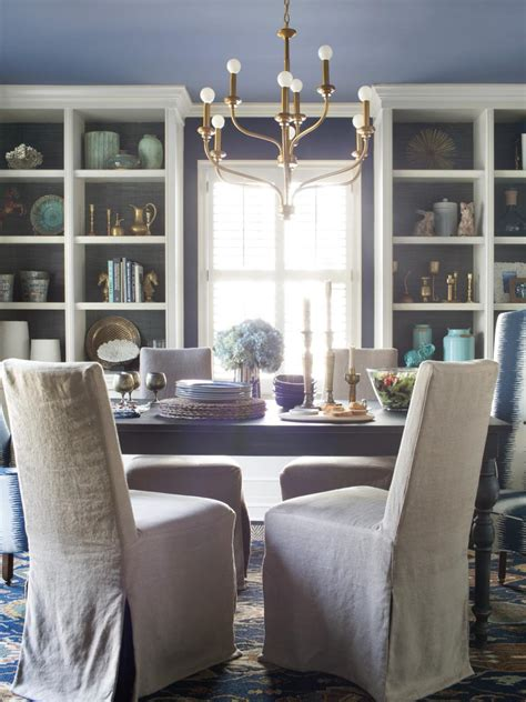 room chair spice up your dining room with stylish slipcovers hgtv