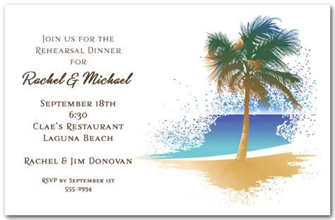 swaying palm   beach invitation
