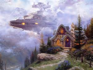 Star Wars Toasters Making Thomas Kinkade Paintings Better Atomic Toasters