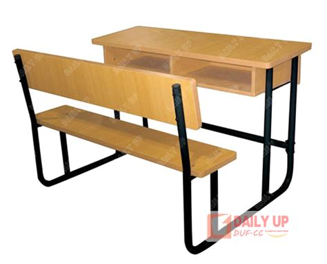 college bench two seater school table bench for student double student