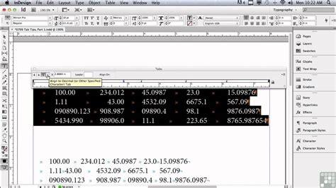tutorial indesign cs6 pdf adobe indesign cs6 tutorials tab tips pt1
