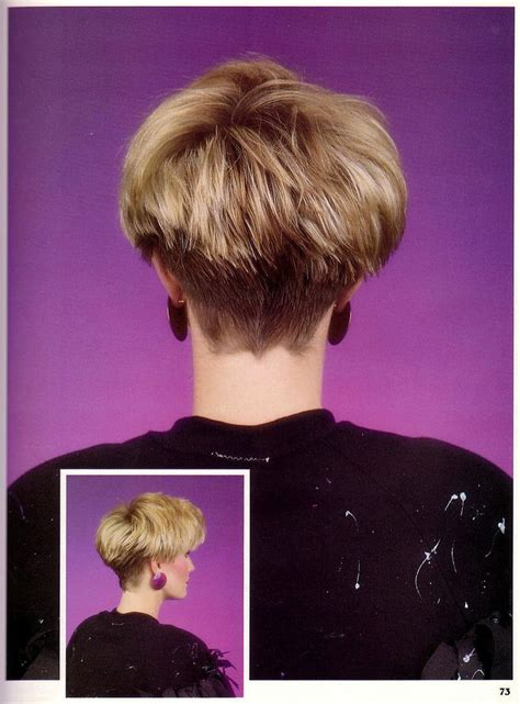 80s style wedge hairstyles best 25 wedge haircut ideas on pinterest short