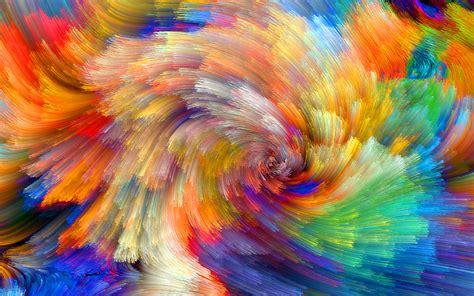 colorful wallpaper wallpaper vibrant colorful bloom fractals textures 5k