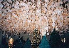 white cotton string fake snow snow thread cotton balls on string white or fishing line hang from ceiling or in