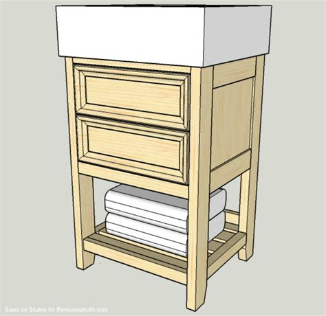 ikea small storage build a small vanity with an ikea sink and it has both