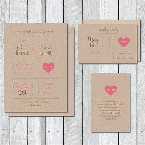 Hochzeitseinladung Urig by Hochzeitseinladung Urig Alle Guten Ideen 252 Ber Die Ehe