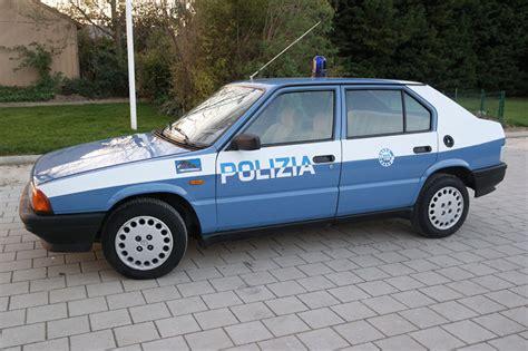 volante della polizia alfa romeo 33 squadra volante della polizia 1987
