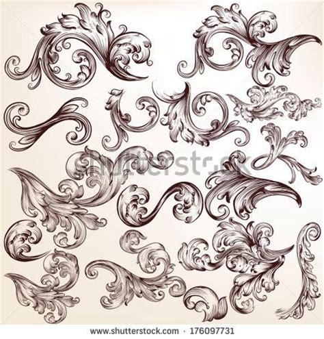 victorian tattoo filigree www pixshark images