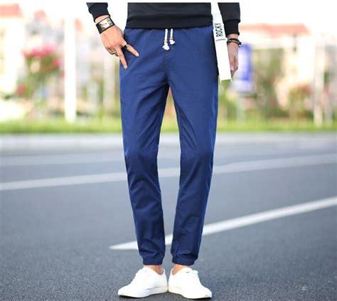 Big Size Jogger Jason Khaki plus size khaki mens khaki s cuffed joggers cotton trousers european