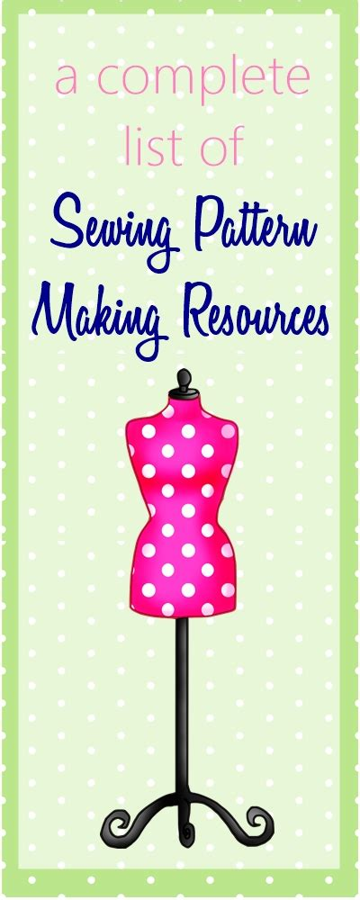 pattern making for beginners ultimate list of online sewing pattern making classes books