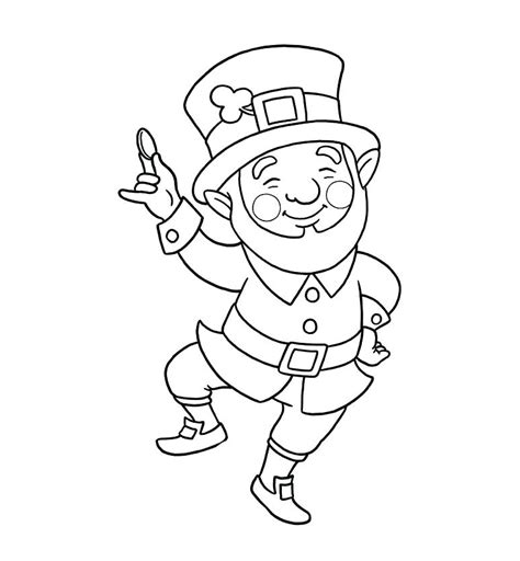 leprechaun hat template printable leprechaun template printable coloring pages free hat