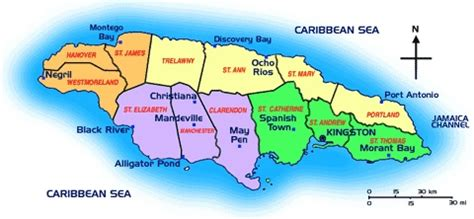 Search Jamaica Jamaica Map Wallpaper