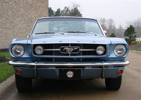 1965 mustang convertible blue silver blue 1965 ford mustang convertible