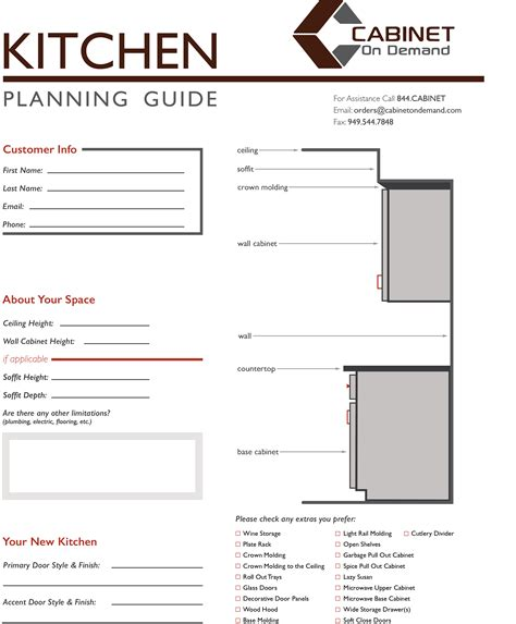 kitchen cabinet layout guide we offer a kitchen planning guide to help design your