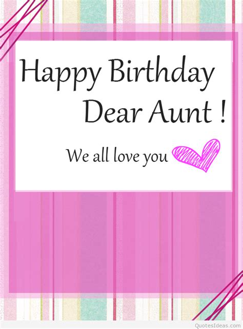 Birthday Quotes For Aunts Happy Birthday Aunt Wishes Cards Wishes Messages