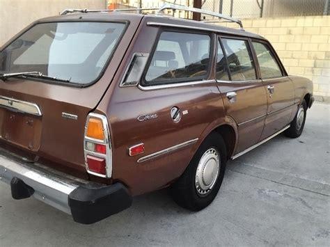 toyota california california classic 1978 toyota corona wagon