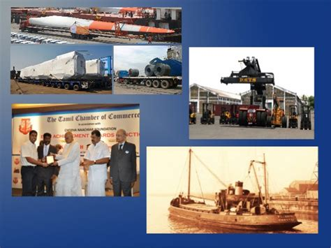 Mba Shipping And Logistics In Chennai by Shipping Industry Achievements In Chennai Port