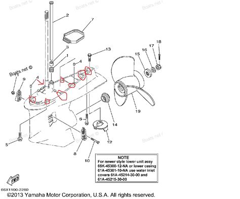yamaha lower unit diagram how do i a 200 hp vmax lower unit after