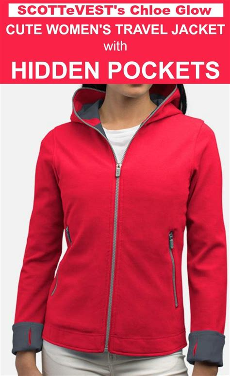 Jacket Hoodies My Trip the womens travel jacket with pockets scottevest glow hoodie