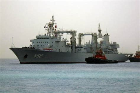 boat r five dock five chinese navy ships are operating in bering sea off