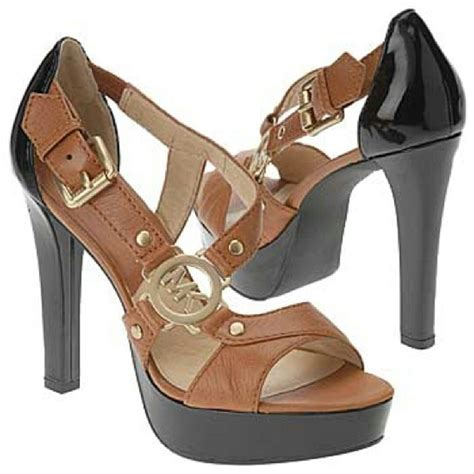 Promo Wedges Black Golden Fantastic book of michael kors shoes in us by playzoa