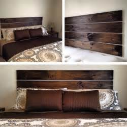 Wood Headboard Ideas 10 Diy Bedroom Headboard Ideas Home Design And Interior