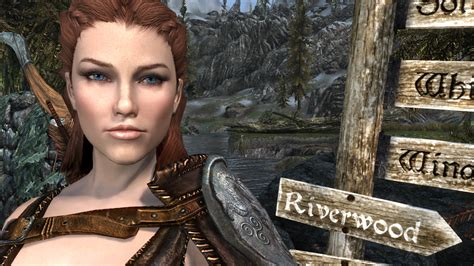 skyrim creation kit hair total character makeover at skyrim special edition nexus