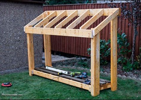 diy small wood shed howtospecialist   build step