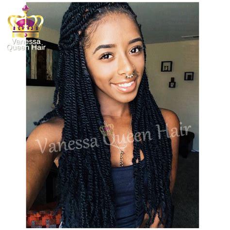 kinky twist for black women synthetic kinky twist braiding hair black twist braided