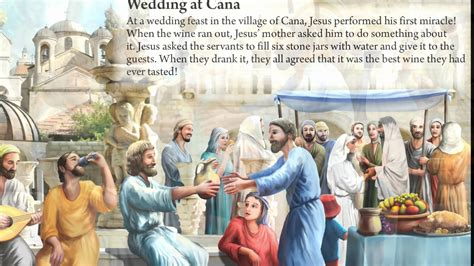 Bible Wedding At Canaan by 15 Wedding At Cana Bible Story For Children