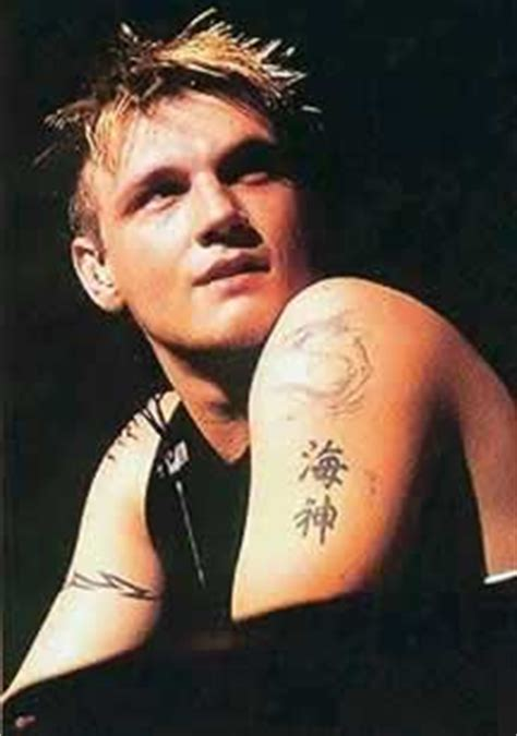 nick carter tattoos photos pics pictures of his tattoos
