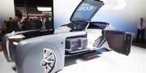 Rolls Royce Future Cars Rolls Royce Unveils Driverless Vision Next 100 Concept Car