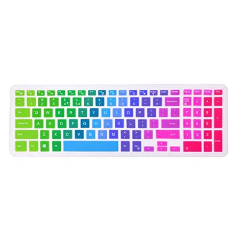 keyboard layout vb net silicone keyboard cover for dell inspiron 15 i5558 forito